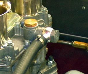 Fuel Line Close Up