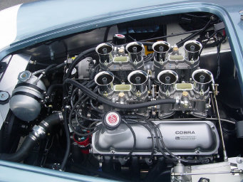 Ron Scarboro's 100-point FIA engine compartment.