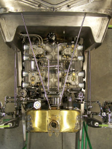 Jim Stewart (pair of twin DCOE units on a dual quad manifold)