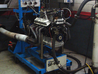 Kurt Sells' 331 stroker making 460 hp on the dyno