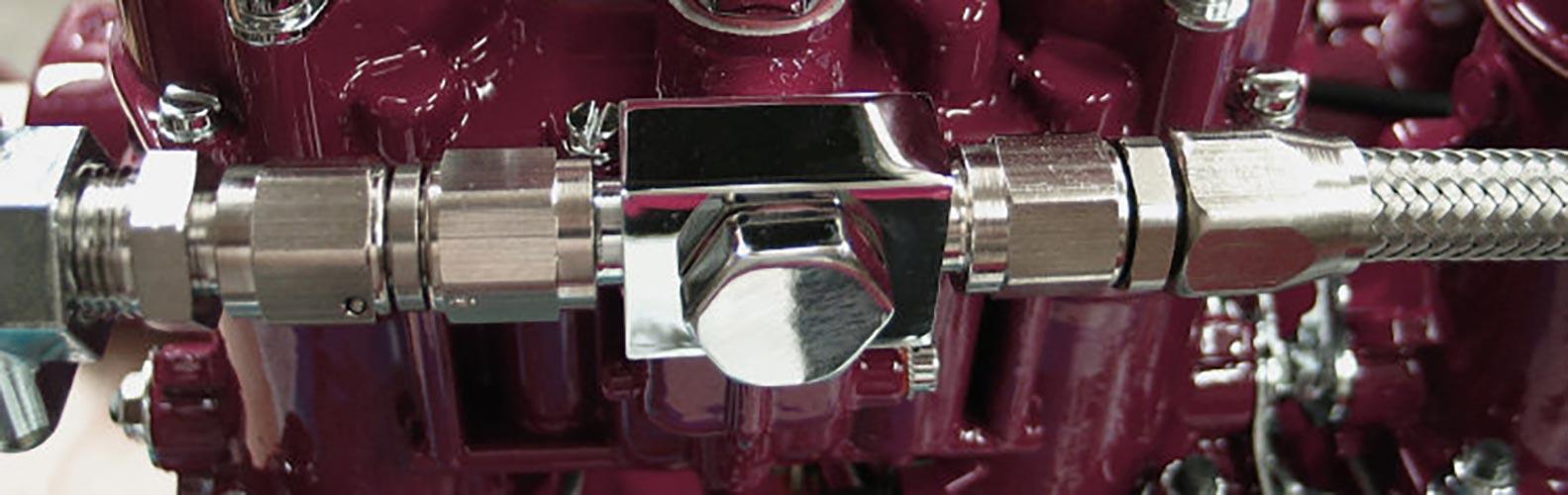 Fuel Line Close Up