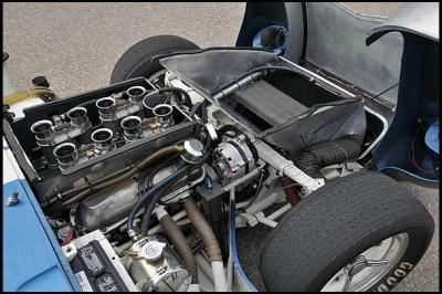 Cobra Daytona Coupe Engine