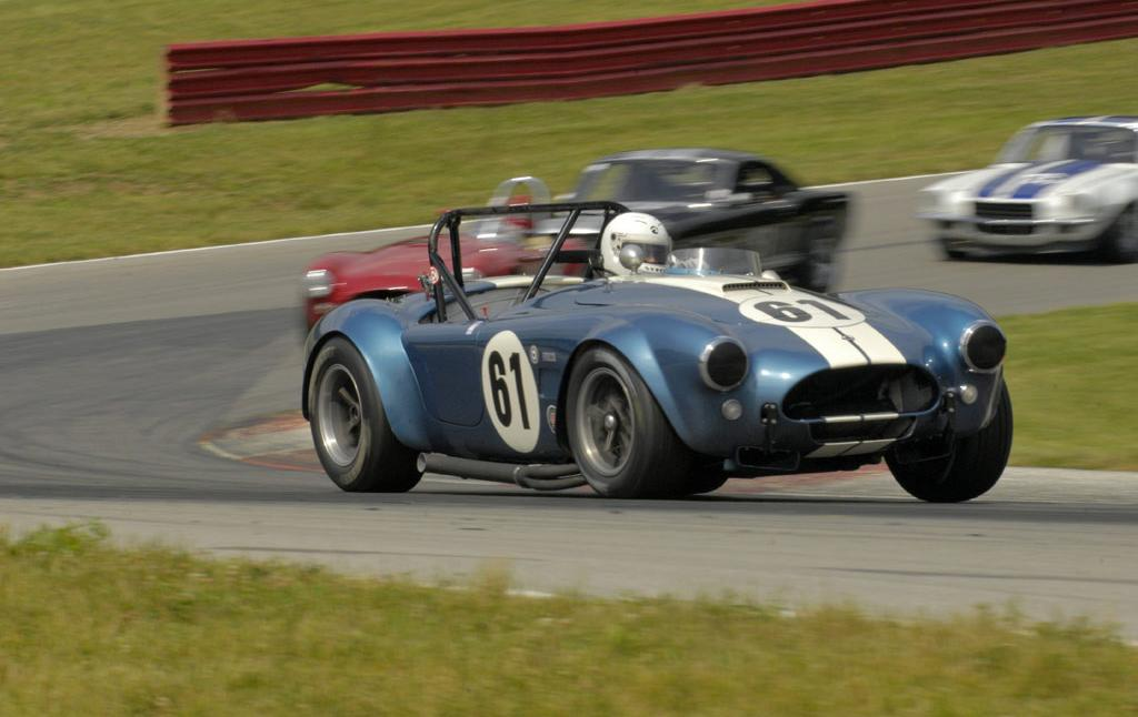 AC Cobra on a Race Track